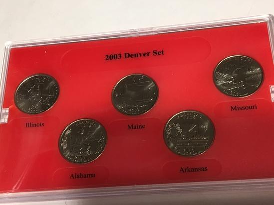 2003 State Quarter Set