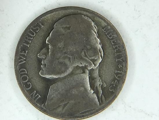 1943 S War Nickel