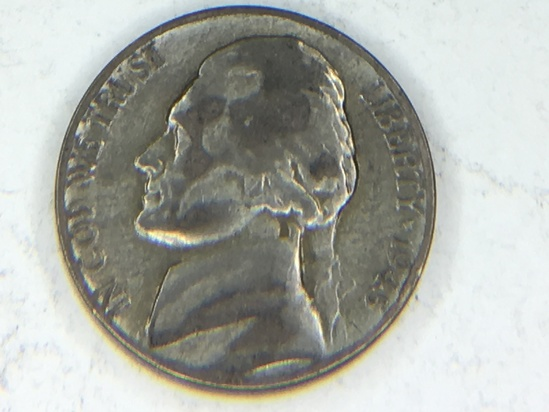 1945 S War Nickel