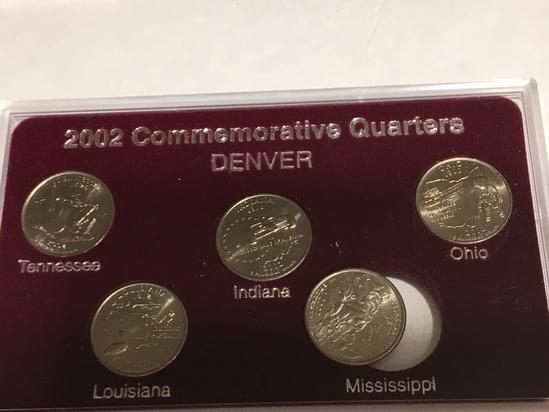 2002 State Quarter Set