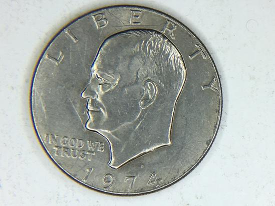 1974 D Eisenhower Dollar