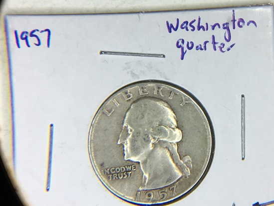 1957 Washington Quarter