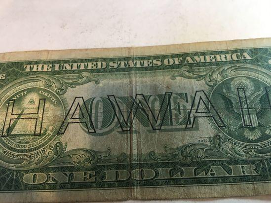 1935 A Hawaii Silver Certificate