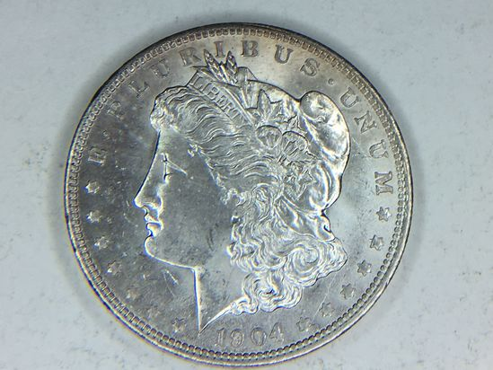 1904–o Morgan Silver Dollar