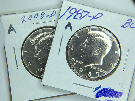 KENNEDYS, IKES, SILVER DIMES, WAR NICKELS & MORE