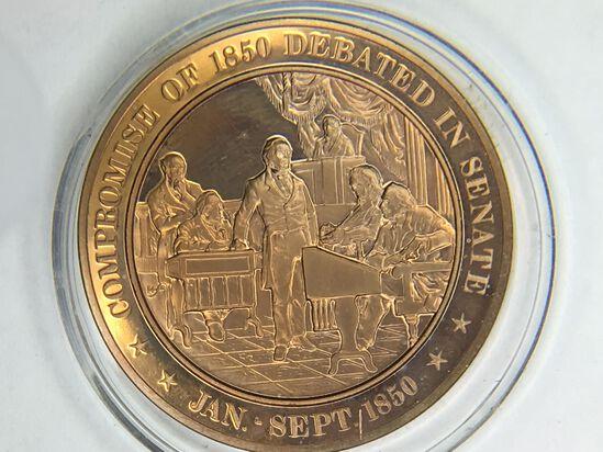 Compromise Of 1850 Defeated In Senatebronze 1.25 Ounce