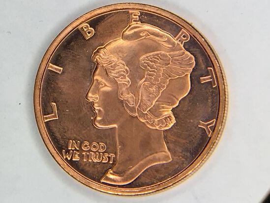 Mercury Copper 1 Ounce