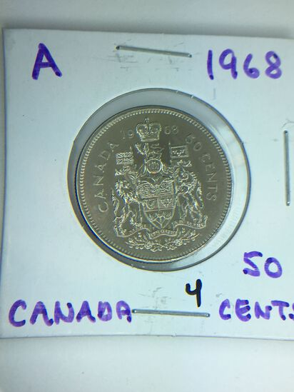 1968 Canada 50 Cents