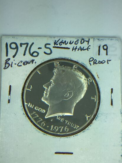 1776 – 1976 – S Kennedy Half Dollar