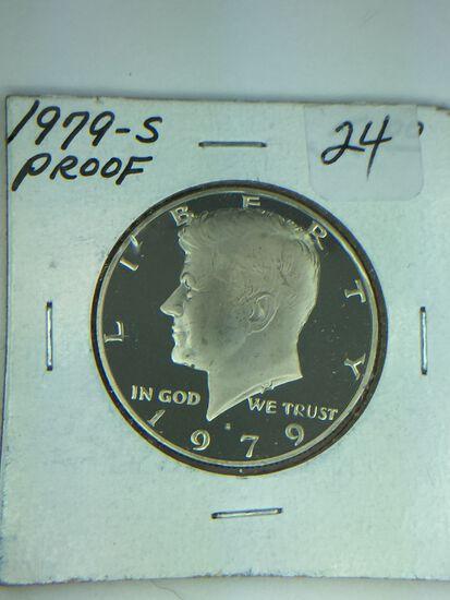 1979 – S Kennedy Half Dollar
