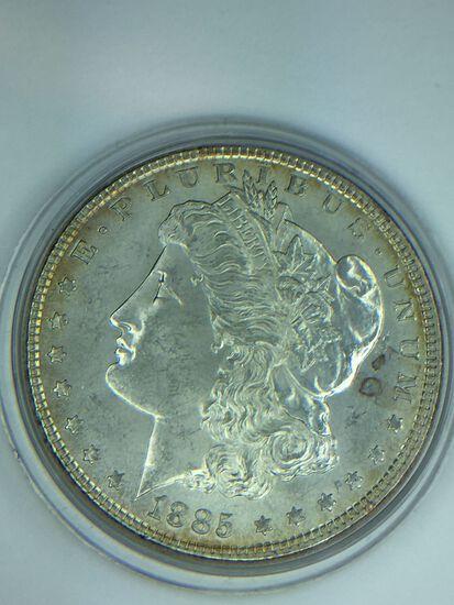 1885 – P Morgan Silver Dollar