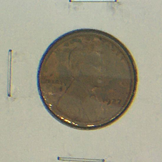 1927 – P Lincoln Cent