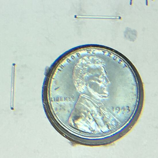 1943 – P Lincoln Cent