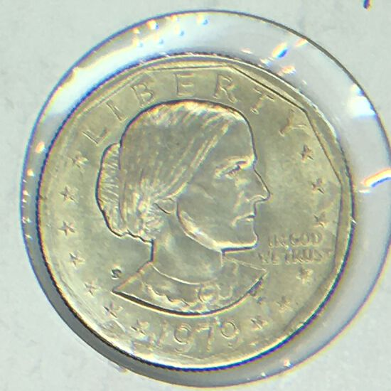 1979 – P Susan B Anthony Dollar