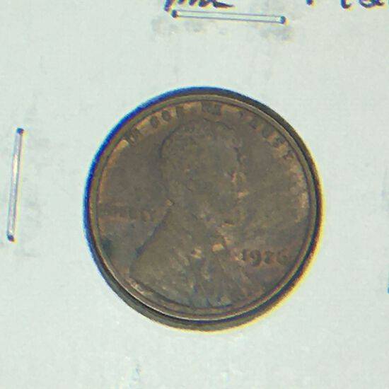 1926 – P Lincoln Cent