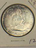 1955 – P Franklin Half Dollar