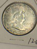 1954 – P Franklin Half Dollar