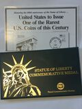 Statue Of Liberty Commemorative Medal – Metal From Statue Of Liberty