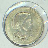 1979 – P Susan B Anthony Dollar