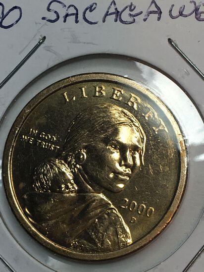 2000 – D Sacajawea Dollar