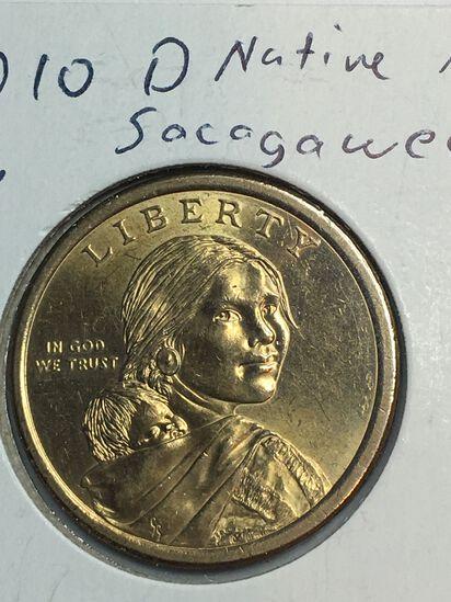 2010 – D Sacajawea Dollar