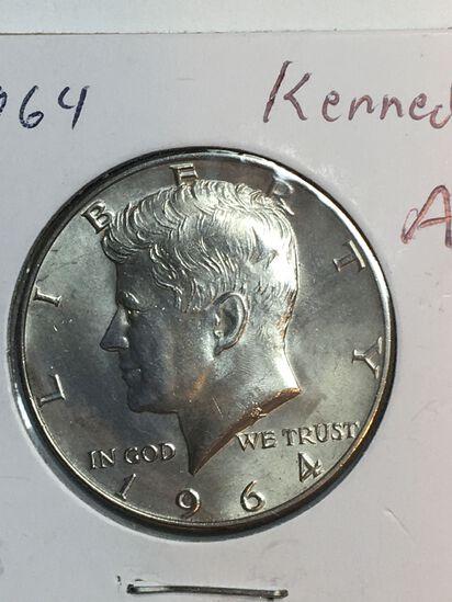 1964 – P Kennedy Half Dollar