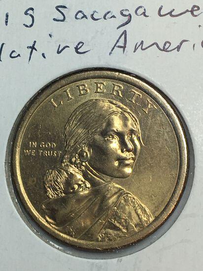 2011 – S Sacajawea Dollar