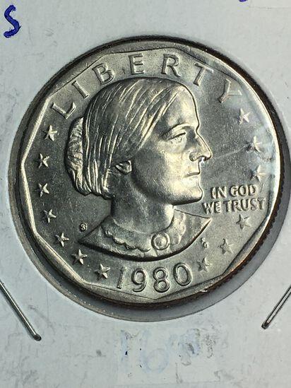 1979 – S Susan B Anthony Dollar