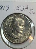 1981 – S Susan B Anthony Dollar