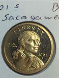 2001 – S Sacajawea Dollar