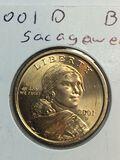 2001 – D Sacajawea Dollar