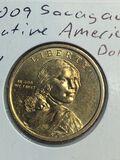 2009 – P Sacajawea Dollar
