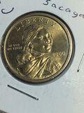 2000 – D Dollar Sacajawea Dollar