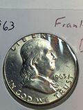1963 P Franklin Half Dollar