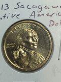 2013 – P Sacajawea Dollar
