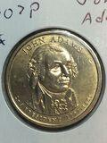 2007 – P John Adams Golden Dollar
