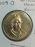 2009 – D William Henry Harrison Golden Dollar
