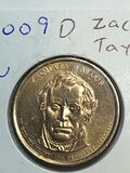 2009 – D Zachary Taylor Golden Dollar