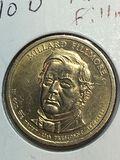 2010 - D Millard Fillmore Golden Dollar