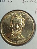 2010 – D Abraham Lincoln Golden Dollar