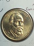 2011 – D James A Garfield Golden Dollar