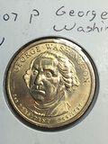 2007 – P George Washington Golden Dollar