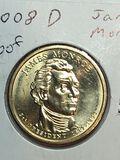 2008 – D James Monroe Golden Dollar