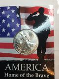 2021 Silver American Eagle Home Of The Brave