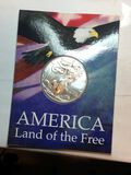 2021 Silver American Eagle Land Of The Free