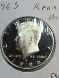 1996 – S Kennedy Half Dollar
