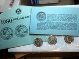1980 Susan B. Anthony 3 Coin Set