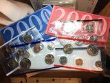 2000 P & D 20 Coin Set