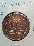 1996 United Kingdom 2 Pence