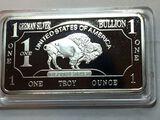 1 Troy Ounce Fine German .999 Silver